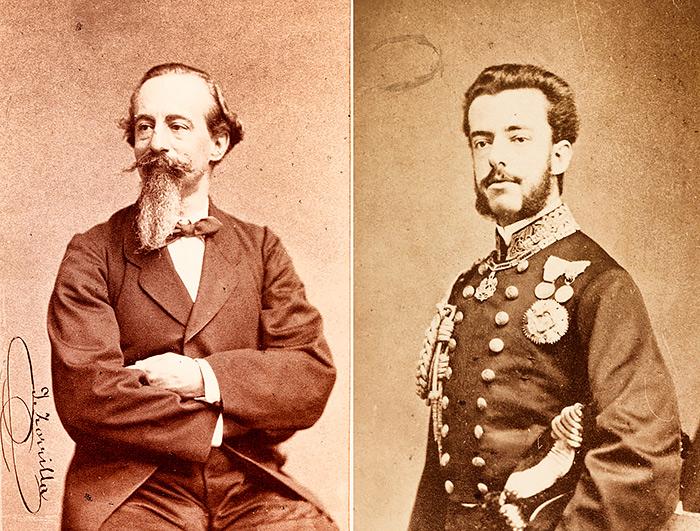 José Zorrilla y el rey de España, Amadeo I de Saboya