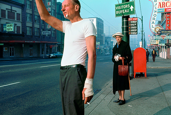 8_Fred-Herzog,-Man-with-bandage,-1968,-Courtesy-of-Equinox-Gallery,-Vancouver-©-Fred-Herzog,-2016