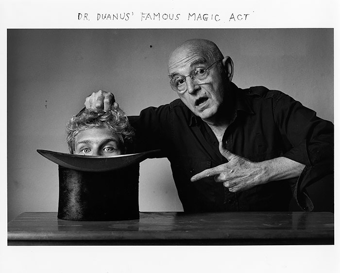 Duane Michals, Dr. Duanus' Famous Magic Act, 1996