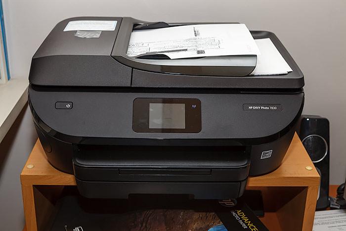 HP Envy Photo 7830, una buena impresora multifunción, Alimentador automático de originales